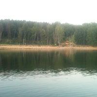 Photo taken at Озеро в Красногорском лесу by Anastasia L. on 8/29/2011