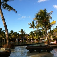 Photo taken at Trou aux Biches Resort & Spa by Karina T. on 11/26/2011