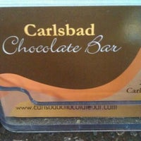 Photo taken at Carlsbad Chocolate Bar by Nikkee M. on 2/4/2012