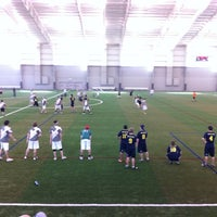 Photo taken at Ultimate Soccer Arena by Hensley S. on 2/19/2011