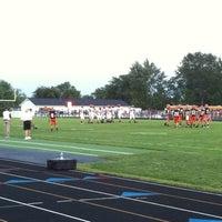 Photo taken at Cavalier Stadium by Brian P. on 8/27/2011