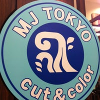 Photo taken at MJ TOKYO fast cut by Daisuke S. on 6/23/2012