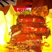 Photo taken at Moe's Original BBQ by Elliot P. on 10/15/2011