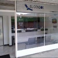 Photo taken at El condor Cambios y Divisas Ltda. by David M. on 1/26/2012