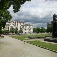 Photo taken at Сквер им. Дзержинского by Ilyusha G. on 6/5/2012