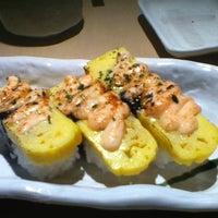 Photo taken at Sushi Zanmai by Doris L. on 6/16/2012