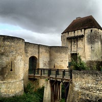 Photo taken at Château de Caen by Hamid S. on 8/25/2012