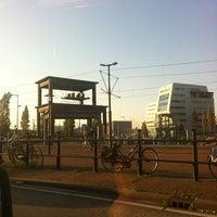 Photo taken at Voor de Bijen (gestapelde tafels) by geheimtip ʞ. on 10/23/2011