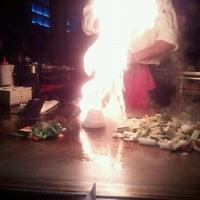 Photo taken at Kobe Japanese Steakhouse & Sushi Bar by Karen M. on 5/15/2011