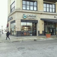 Photo taken at Caribou Coffee by Marizza R. on 1/4/2012