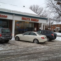 Photo taken at Bialy's Bagels by Thomas G. on 1/21/2012