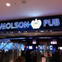Photo taken at Molson Pub by Martin O. on 4/24/2012