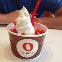 Photo taken at Red Mango by Christy D. on 6/27/2012
