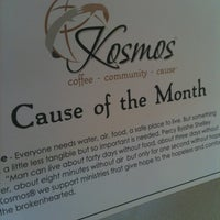 Photo taken at Kosmos Coffee Shop by John C. on 6/29/2011