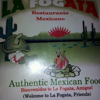 Photo taken at La Fogata Mexican Restaurant by Tanya H. on 7/28/2012