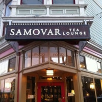 Photo taken at Samovar Tea Lounge by Jon W. on 2/10/2011