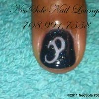 Photo taken at NeoSole Nail Lounge by Nea M. on 10/4/2011