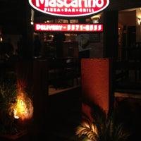 Photo taken at Mascarino Pizza Bar by Luiz M. on 7/6/2012