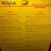Photo taken at Milkfish by Johnny S. on 9/7/2012