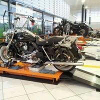 Photo taken at Brasília Harley-Davidson by Yuri G. on 4/19/2012