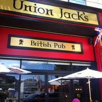 Photo taken at Union Jack's British Pub by Chilax R. on 6/16/2012
