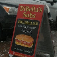 Photo taken at DiBella's Old Fashioned Submarines by Jason S. on 1/14/2012