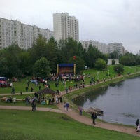 Photo taken at Мазиловский пруд by Александр С. on 9/2/2012