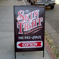 Photo taken at Skin Tight Barber Shop by Dan J. on 11/2/2011