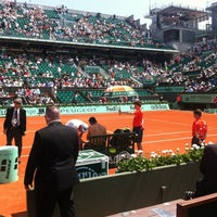 Photo prise au Court Philippe Chatrier par Thibaut C. le5/27/2012