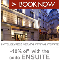 Photo taken at Hôtel Élysées Mermoz (L') by Hoosta Magazine on 4/16/2012