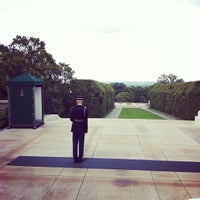 Photo taken at Tomb of the Unknowns by Kevin S. on 7/30/2012