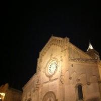 Photo taken at Piazza Duomo by Manuela on 8/10/2011