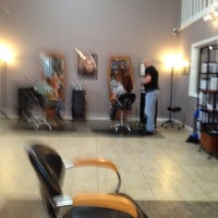 Photo taken at E Salon by Sandra A. on 1/31/2012
