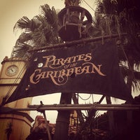 Photo taken at Pirates of the Caribbean by Mike S. on 10/18/2011