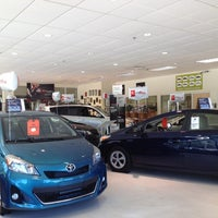 Photo taken at Rockingham Toyota by Marc S. on 5/12/2012