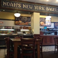 Photo taken at Noah's Bagels by Erkan Y. on 3/16/2012