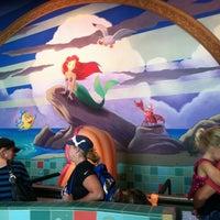 Photo taken at The Little Mermaid ~ Ariel's Undersea Adventure by Becky S. on 9/9/2012