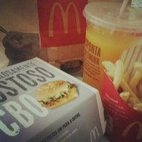 Photo taken at McDonald's by Ana Carolina L. on 5/2/2012
