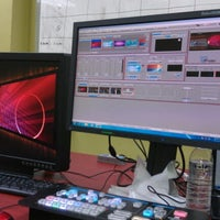 Photo taken at Broadcast City by Amit D. on 7/2/2012