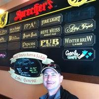 Photo taken at Sprecher's Restaurant & Pub by Joy R. on 1/10/2012