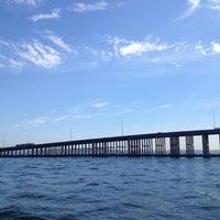 Photo taken at Evergreen Point Floating Bridge by Sadie on 8/17/2012