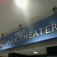 Photo taken at Airbus IMAX Theater by Jeremiah on 12/24/2011