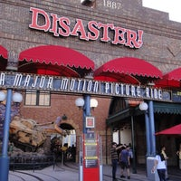 Photo taken at Disaster!: A Major Motion Picture Ride...Starring You! by Undercover Tourist on 1/4/2012