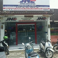 Photo taken at JNE by Gondo A. on 1/15/2012