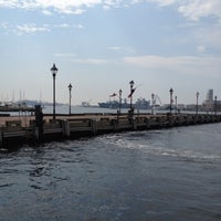 Photo taken at Broadway Pier by Pam C. on 7/24/2012
