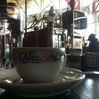Photo taken at Cafe & Factory by Aleksandar A. on 3/7/2012