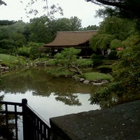 Photo taken at Shofuso Japanese House and Garden by Autumn R. on 9/11/2011