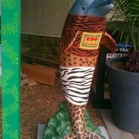 """Photo taken at """"Zipper"""" Dolphin on Parade @ Zoo Atlanta by Pop O. on 8/30/2011"""