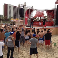 Photo taken at vitaminwater® spring break 2012 @ Coca-Cola Beach by chanelle f. on 3/10/2012