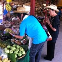 Photo taken at Talard Kong Khong by Krumam S. on 3/4/2012